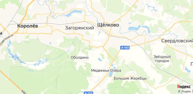Серково на карте