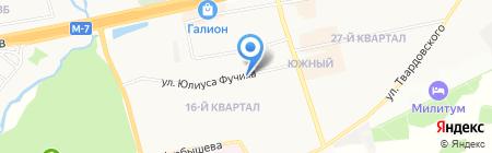 Ава хлеб на карте Балашихи