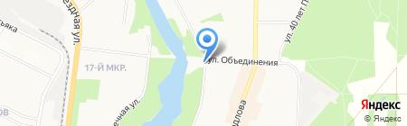Продуктовый магазин на Заречной на карте Балашихи