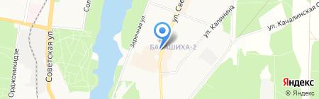 Киоск по продаже мороженого на карте Балашихи