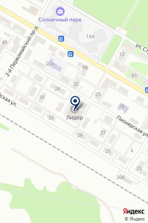 СТРОИТЕЛЬНО-МОНТАЖНАЯ ФИРМА МОНТАЖИНЖСТРОЙ на карте Щелково
