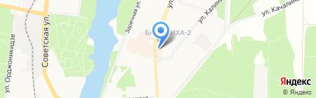 Билайн на карте Балашихи