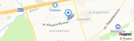 Магазин товаров для животных на карте Балашихи