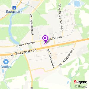 Балашихинский диагностический центр на карте