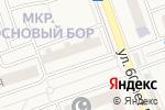 Схема проезда до компании Urban-x-sport в Октябрьском