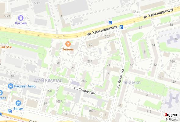жилой комплекс Краснодонцев, 28а