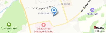 Детский сад №34 Рябинка на карте Балашихи