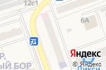 Схема проезда до компании Песок Плюс в Октябрьском