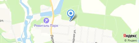Леоновский Парк на карте Балашихи
