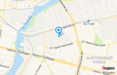 Местоположение на карте пункта техосмотра по адресу Вологодская обл, г Череповец, ул Краснодонцев, д 3Г