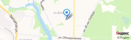 Магазин сантехники на карте Балашихи