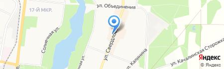 Оливия-Файн на карте Балашихи