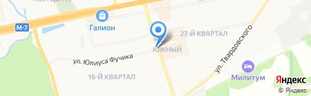 Котопес на карте Балашихи