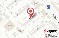 Схема проезда до компании На Русском Рубеже в Щелково