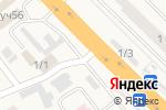Схема проезда до компании Шиномонтажная мастерская в Октябрьском