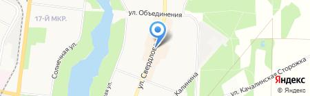 Магазин нижнего белья на карте Балашихи
