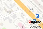 Схема проезда до компании Быстрое питание в Октябрьском