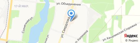 Заречье на карте Балашихи