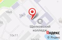 Схема проезда до компании Московский областной профессиональный колледж инновационных технологий в Долгом Ледово