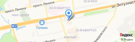 QIWI Post на карте Балашихи