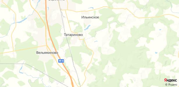 Толочаново на карте