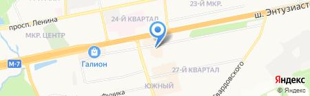 Магазин игрушек на шоссе Энтузиастов на карте Балашихи