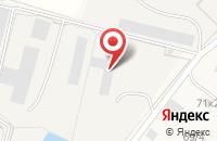 Схема проезда до компании Атон Сталь в Верхнем Мячково