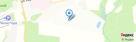 ВТУ Военно-технический университет на карте Балашихи