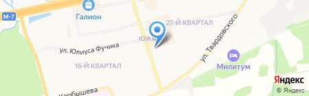 Бэлль на карте Балашихи