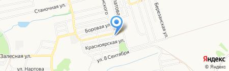 Магазин овощей и фруктов на ул. Иноземцева на карте Донецка