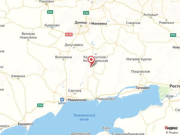 село Майорово на карте