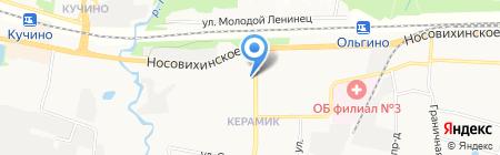 Магазин семян и цветов на карте Балашихи