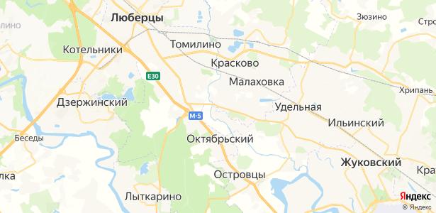 Пехорка на карте