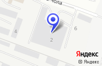 Схема проезда до компании ТФ ГРУППА ЧЕСС в Череповце