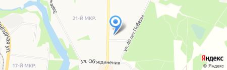 Дом Гончарова на карте Балашихи