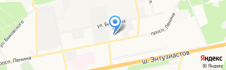 Нуга Бест на карте Балашихи