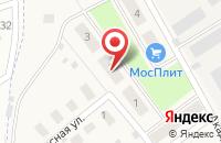 Схема проезда до компании РемКомп в Долгом Ледово