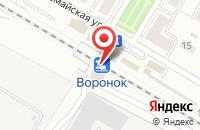 Схема проезда до компании Щелковская Теплосеть в Щелково