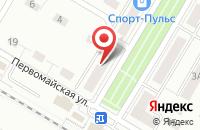 Схема проезда до компании РусСтройГарант в Щелково