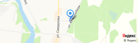 Автомойка на ул. Свердлова на карте Балашихи