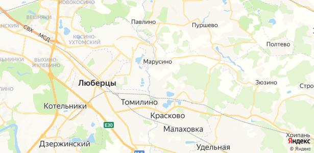 Машково на карте