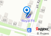 Royal Fit на карте