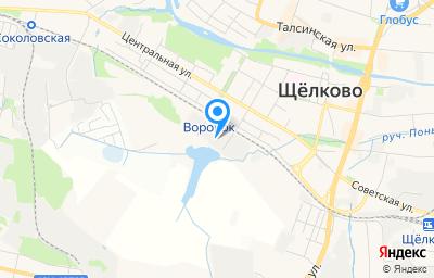 Местоположение на карте пункта техосмотра по адресу Московская обл, г Щёлково, ул Иванова, д 2/3 к 6