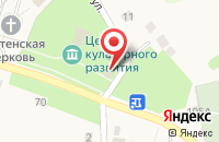 Схема проезда до компании Центрально-Черноземный банк Сбербанка России в Лапыгино