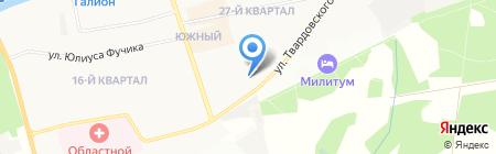 Городская детская поликлиника №11 на карте Балашихи