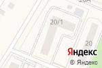 Схема проезда до компании Пузов в Красково