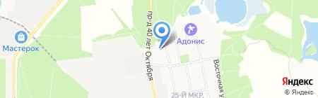 КОНТАКТ РИЭЛТИ на карте Балашихи