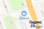 Схема проезда до компании Магнит в Октябрьском