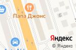 Схема проезда до компании Белорусские кухни ЗОВ в Октябрьском