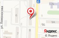 Схема проезда до компании Алон в Хотьково